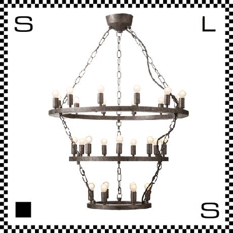 アートワークスタジオ Elements27 電球付 アンティークシャンデリア 3段 27灯 Φ685/435mm 上向きシャンデリア クラシック レトロ AW-0383V