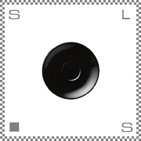 ORIGAMI オリガミ エスプレッソカップ用ソーサー ブラック Φ128mm デミタスカップ用ソーサー 日本製