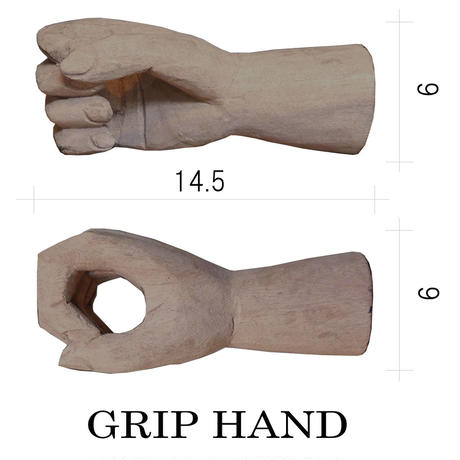 PENA solid wood sign  GRIP HAND