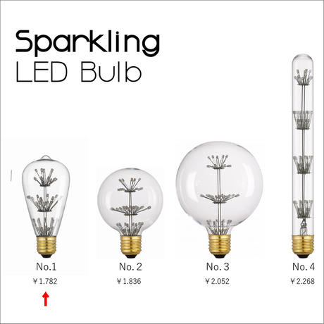 Sparkling LED Bulb [NO.1]