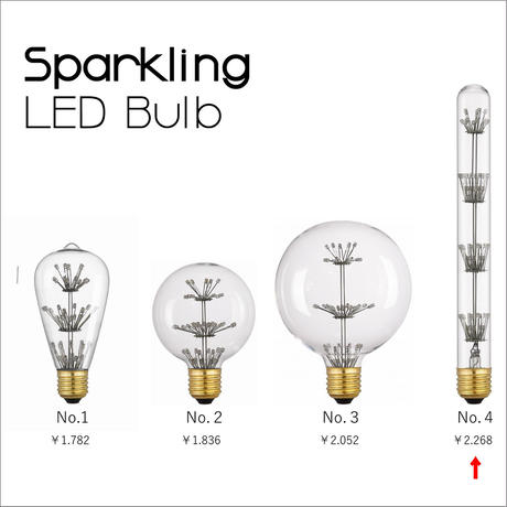 Sparkling LED Bulb [NO.4]
