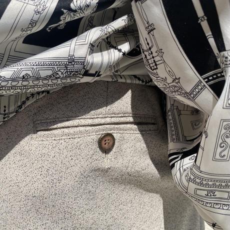 90s~ 2tacks wide slacks pants