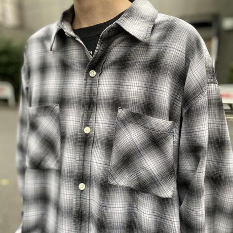 """carhartt"" oversized checked shirt"