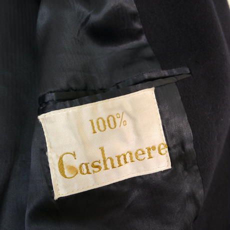 Cashmere chester coat