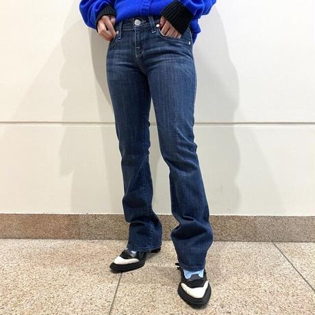 00s〜semi-flare denim pants