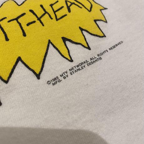"90s ""BEAVIS AND BUTT-HEAD"" printed tee"