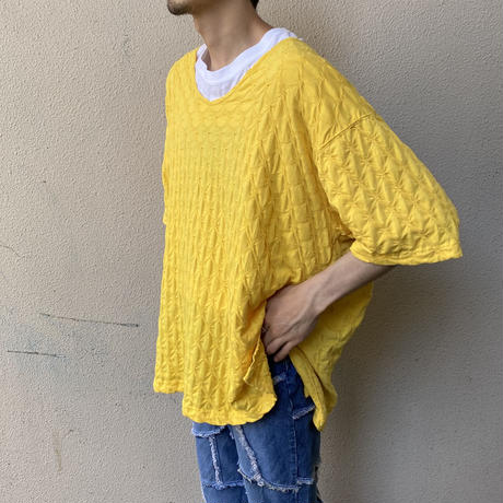 oversized v-necked tee