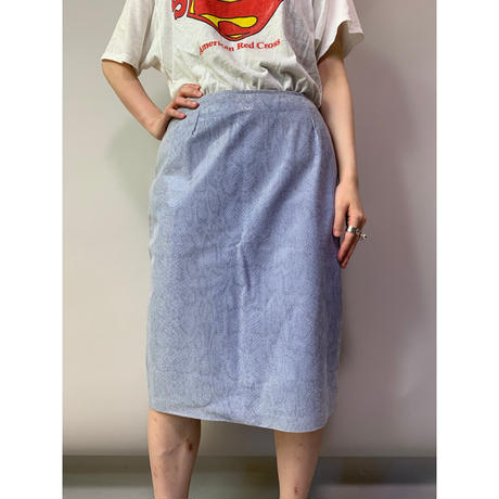 90年代 パイソン柄レザースカート