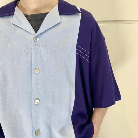 """""""Da Vinci"""" S/S rayon blend design shirt"""