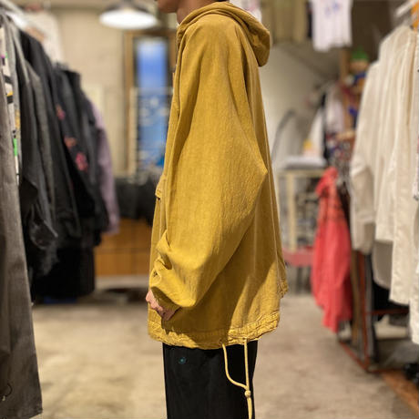 90s garment die cotton anorak jacket