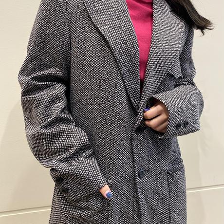 90s~ mosaic pattern tailored jacket