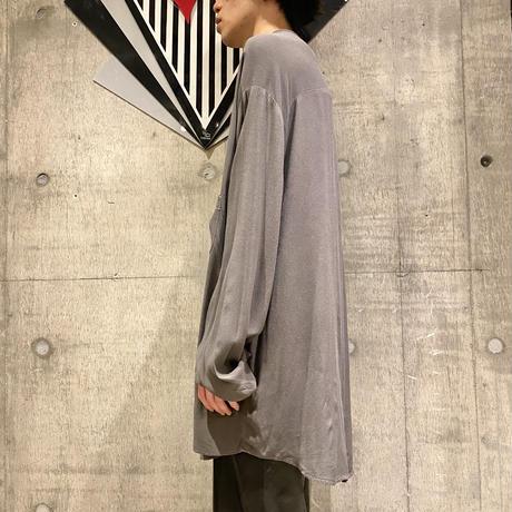 90s oversized rayon shirt