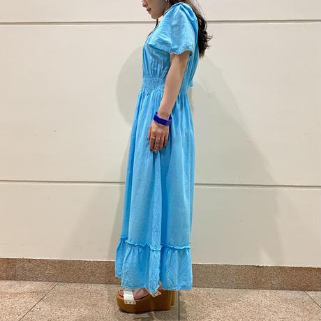 80s~design frill dress