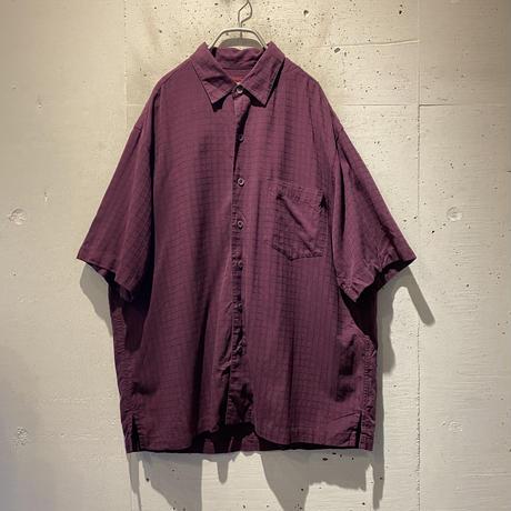 S/S silk blend shirt