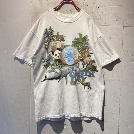 80s animal printed tee