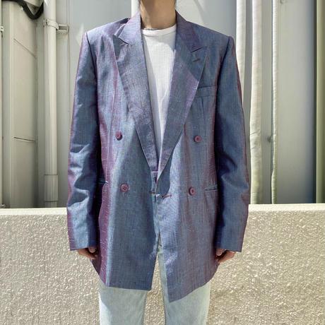 80s〜 shiny tailored jacket