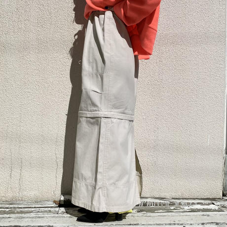 90s~ 2way design long skirt