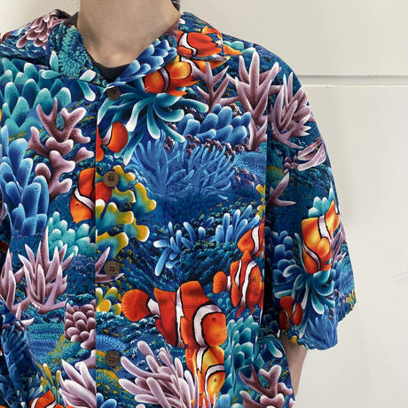 oversized s/s design shirt