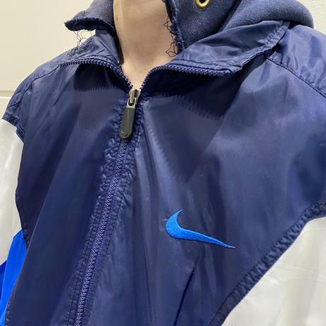 """90s〜""""NIKE"""" big swoosh jacket"""