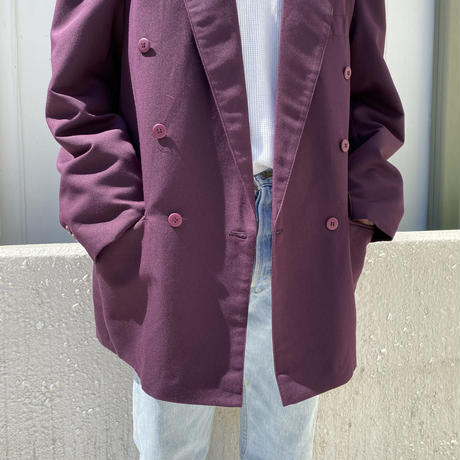 90s double breasted tailored jacket