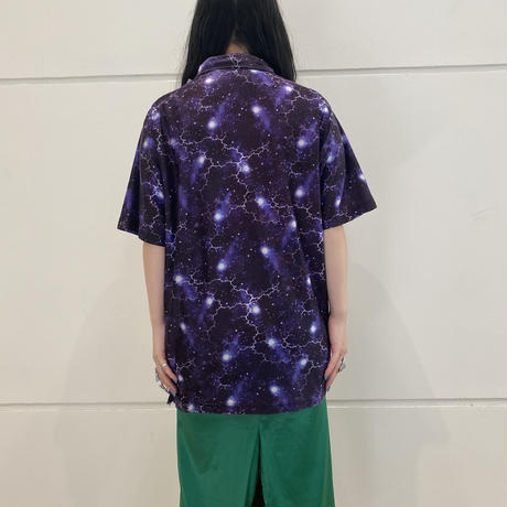 90s~ all patterned S/S shirt