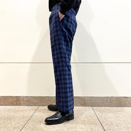 90s〜shadow checked slacks pants