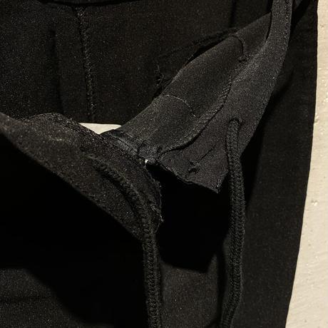 """""""東方美人"""" stretched flare pants"""