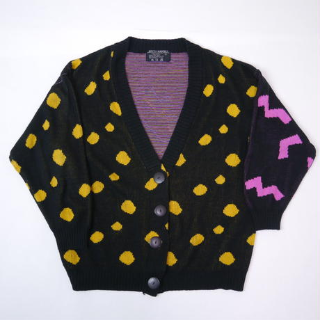 80s pop knit cardigan