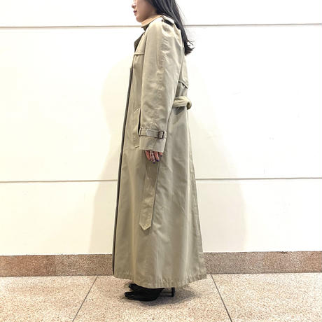 "90s~ ""BROOKS BROTHERS"" trench coat"