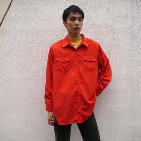 vivid color L/S shirt