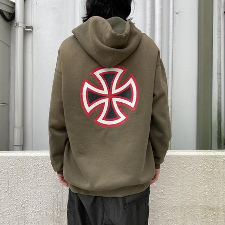 "90s〜""INDEPENDENT"" boro hoodie"