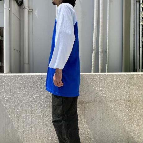 90s~ oversized 2tone raglan sleeve T-shirt
