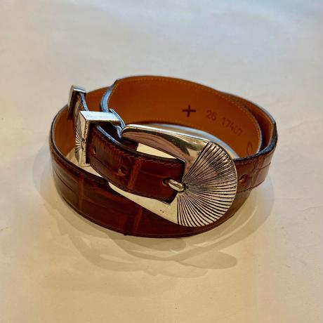 leather design belt