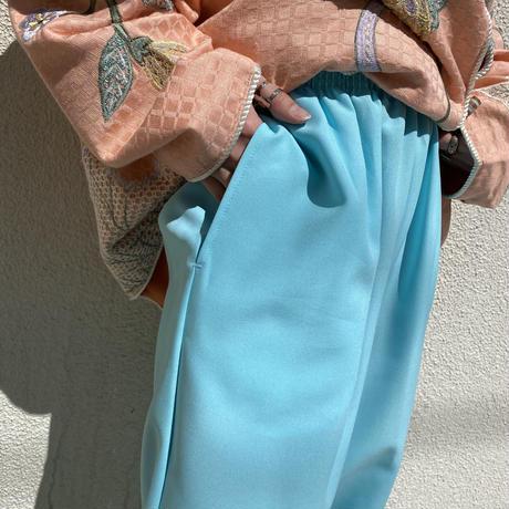 easy slacks pants (BLU)