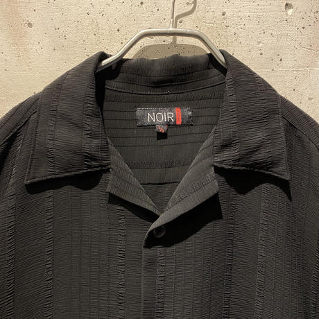 see-through design S/S shirt