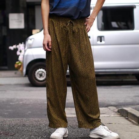 leopard pattern easy pants