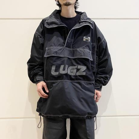 90s half zip design nylon jacket