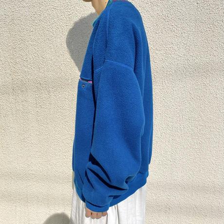 """90s~ """"Columbia"""" fleece sweat shirt"""