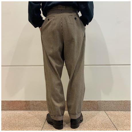 90s cotton 3tuck slacks