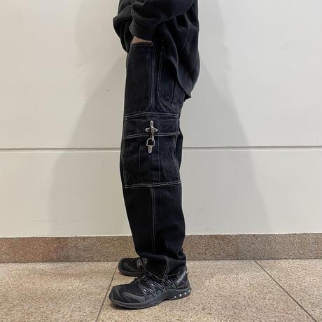 90s~ design denim cargo pants