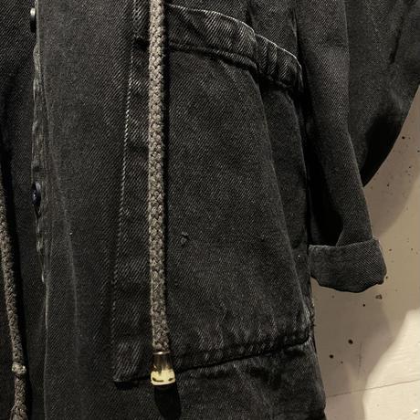 90s oversized denim coat