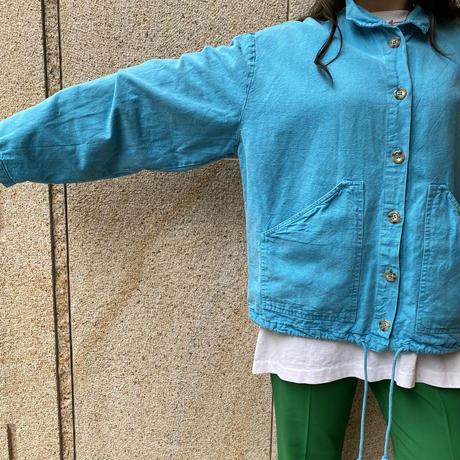 wide & short oversized shirt