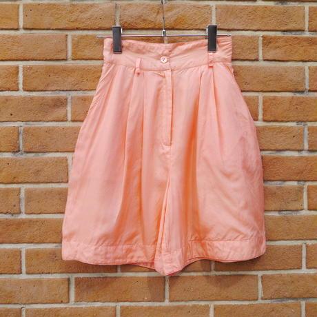 High-waist half pants