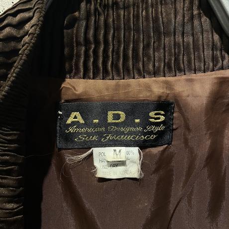 80s〜design zip up jacket