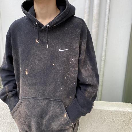 """NIKE"" oversized bleach design hoodie"