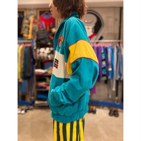 "80s ""adidas"" zip up jacket"