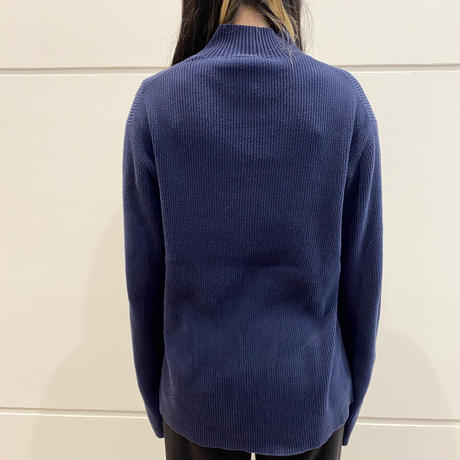"90s ""POLO JEANS"" cotton rib knit sweater"