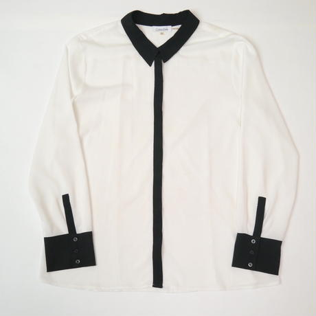 """CalvinKlein"" sheer L/S shirt"