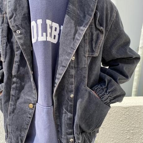 80s〜design denim jacket