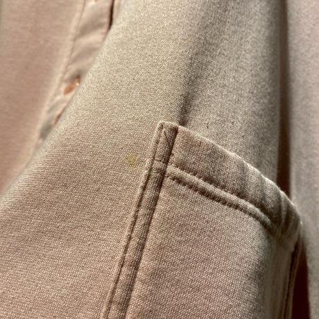 6X! oversized sweat cardigan